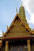 Thailand  in      and  colors religion — Foto de Stock