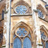 British     in london england old  construction and religion — Stock Photo
