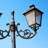 Europe in the sky of italy lantern and abstract illumination — Stock Photo