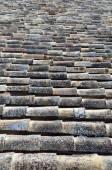 Oude dakpannen — Stockfoto