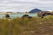 Lake Myvatn. Iceland — Stock Photo