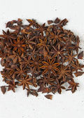 Star anise, star aniseed, or Chinese star anise — Stock Photo