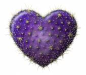 Cactus Heart — Stock Photo