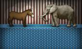 Political Debate — Stock Photo