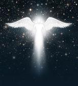 Angel in the Night Sky — Fotografia Stock