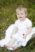 Abbastanza piccolo bambino — Foto Stock