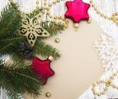 рождественская открытка — Стоковое фото