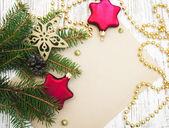 Noel kartı — Stok fotoğraf