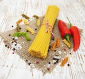 Italian ingredients — Stock Photo