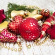 Christmas Baubles — Stock Photo #58046125