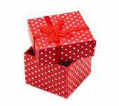 Gift box package — Stock Photo