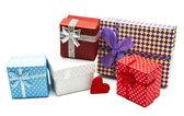 винтаж подарочные коробки — Стоковое фото
