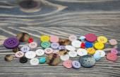 Bottoni da cucire — Foto Stock