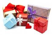 Vintage gift boxes — Stockfoto