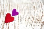 Dřevěné srdce — Stock fotografie