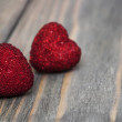 Two Red hearts — Stock Photo #60717553