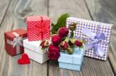 Coffrets cadeaux vintage — Photo