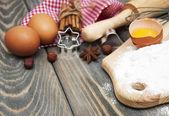 Baking ingredients — Stock Photo