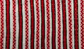 Embroidered ethnic pattern — Stock Photo
