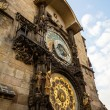 horloge astronomique sur l'ancien hôtel de ville de prague — Photo #53941901