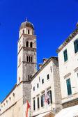 Dubrovnik old town architecture at Stradun main street — Stock Photo