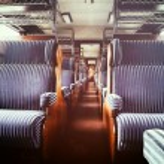minulého století železniční autointeriérů — Stock fotografie #51954013