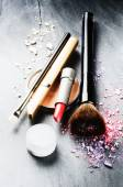 Various makeup products — Stock Photo