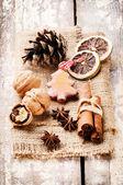 Christmas spices — Zdjęcie stockowe