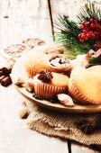 Christmas holiday baking — Stock Photo