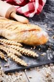 Freshly baked french baguette — Stock Photo