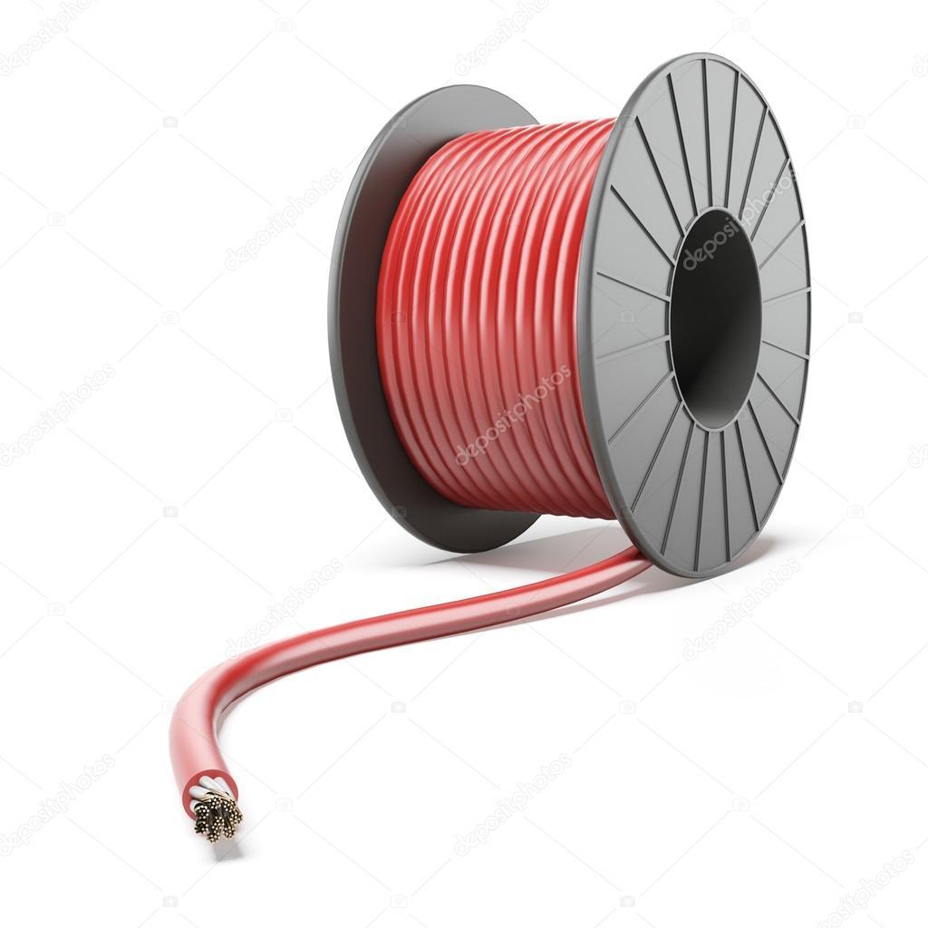 High Voltage Power Wire : Hoog voltage power kabel — stockfoto ekostsov
