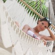 Постер, плакат: Katya in the hammock