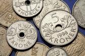 Noorwegen munten — Stockfoto