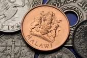 Coat of arms on Malawian Coin — Foto Stock