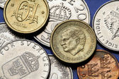 Coins of Sweden — Stock Photo