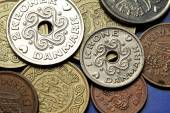 Coins of Denmark — Stockfoto