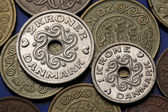 Coins of Denmark — Stock Photo