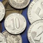 Coins of Ecuador — Stock Photo #54091233