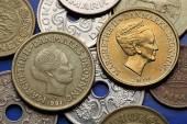 Coins of Denmark — Stockfoto