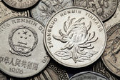 Coins of China — Stock Photo