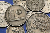 Coins of Malaysia — Stock Photo
