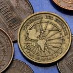 Coins of Ecuador — Stock Photo #54281355