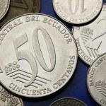 Coins of Ecuador — Stock Photo #54281463