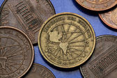 Coins of Ecuador — Stock Photo
