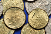 Coins of Serbia — Stock Photo