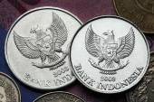 Coins of Indonesia — Stock Photo