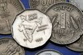 Coins of India — Stock Photo