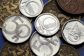Coins of Czech Republic — Stock Photo
