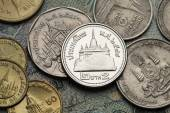 Coins of Thailand — Stock Photo