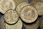 Coins of Kazakhstan  — Stock Photo